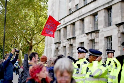 Extinction Rebellion Peace London 9th October 2019