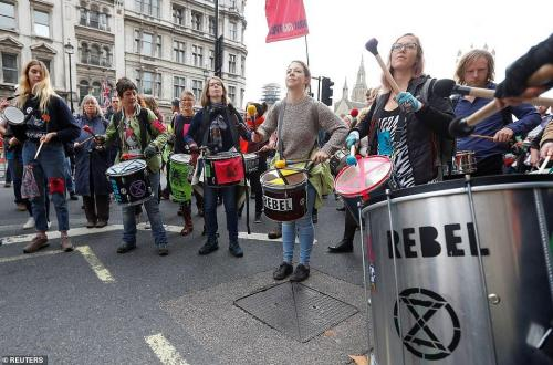 Westminster drummers. Reuters